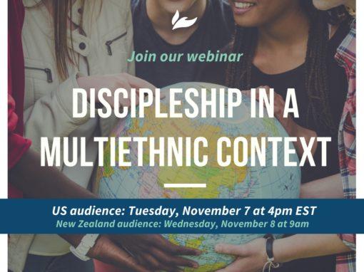 Discipleship in a Multiethnic Context Webinar
