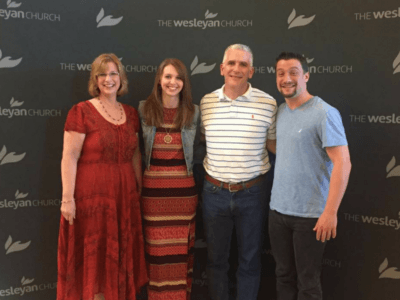 Wesleyan pastors credit Exponential for latest calling