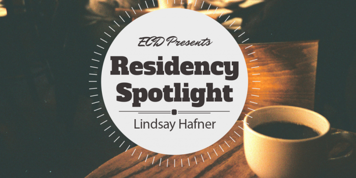 Residency Spotlight: Lindsay Hafner: from Painting to Planting