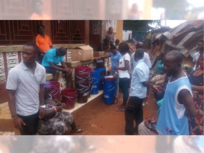 Mudslide in Sierra Leone kills nearly 300