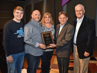 Otto receives Mitchell Award