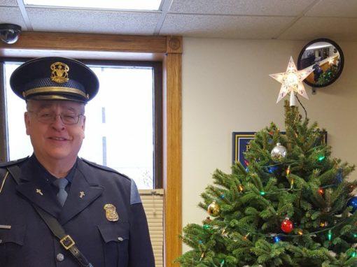 Michigan pastor receives distinguished chaplain award