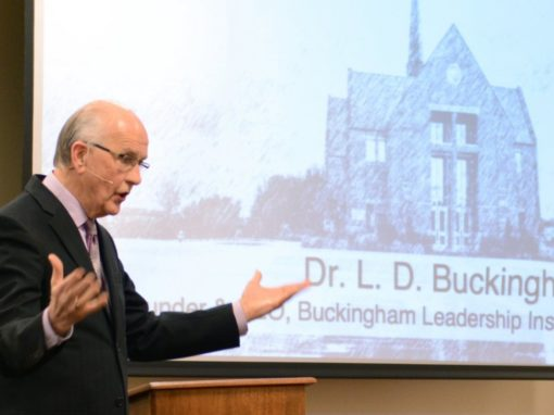 Buckingham Leadership Institute launched with strong financial backing