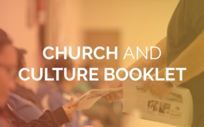 Church and Culture Booklet