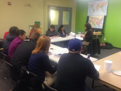 Ministry through Citizenship Classes