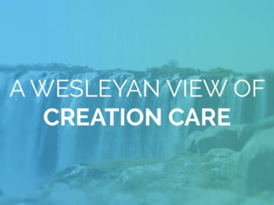 A Wesleyan View of Creation Care