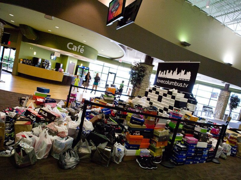Cypress Church donates thousands of shoes