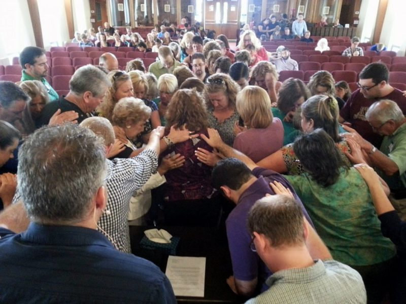 Pastor experiences restoration through grace