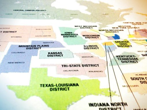 Two districts merge to create historic missional opportunity