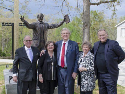 SWU dedication reveres evangelist Clyde Dupin