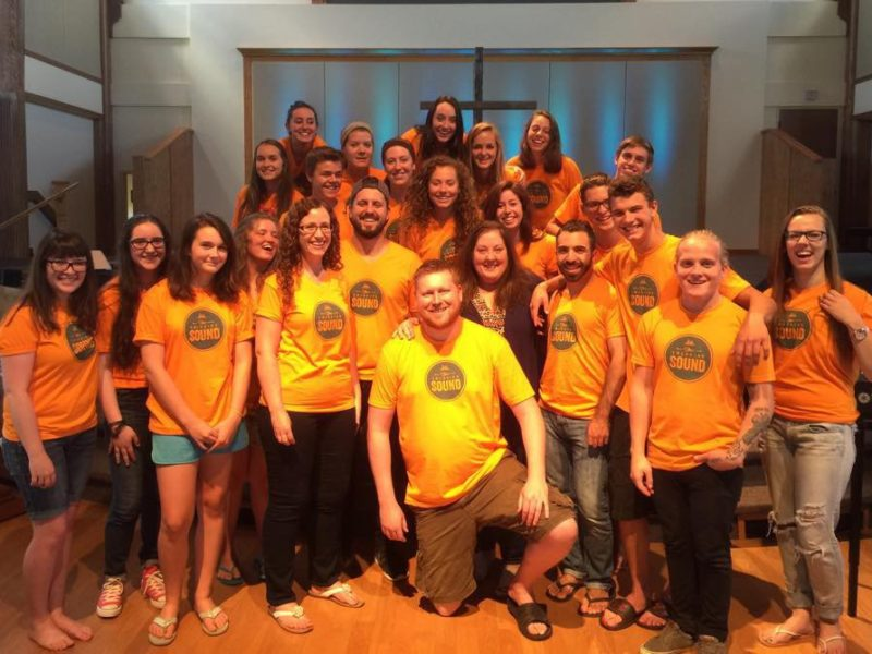 Teens create songs of worship at Kingswood event