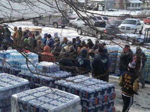 350 Wesleyans so far helped in Flint—and more volunteers needed!