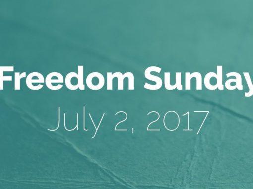 Freedom Sunday: July 2