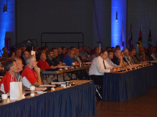 General Conference approves one general superintendent structure