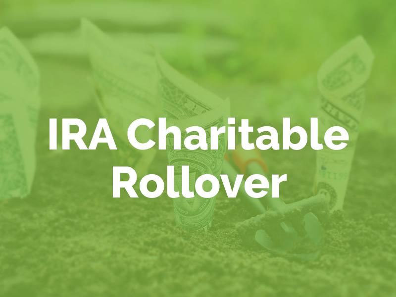 IRA Charitable Rollover