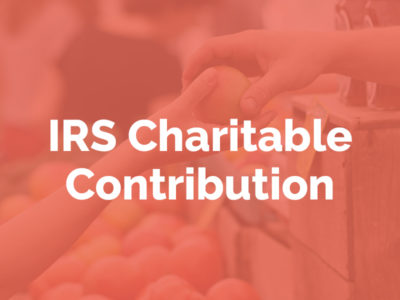 IRS Charitable Contribution Resources