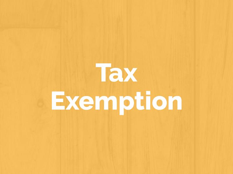 Demystifying Tax Exemption