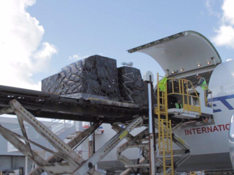 Supplies arrive in Haiti for hurricane victims