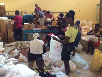More supplies arrive in Haiti