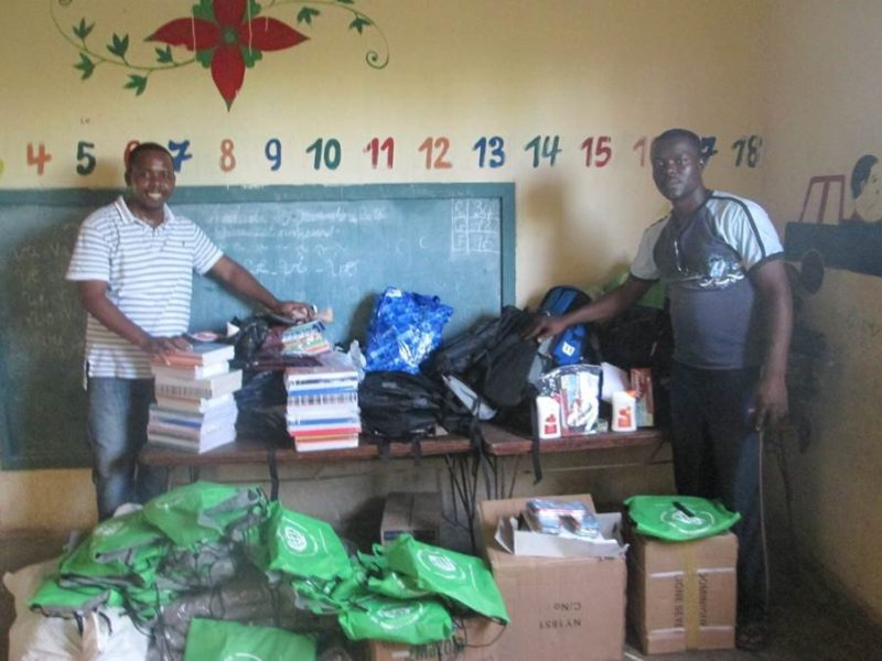 Haitian Wesleyan youth help hurricane victims