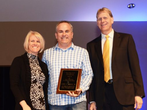 Spaugh receives Mitchell Award