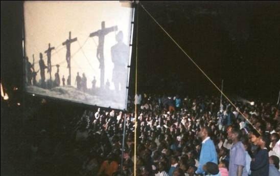 JESUS film: one month in Sierra Leone