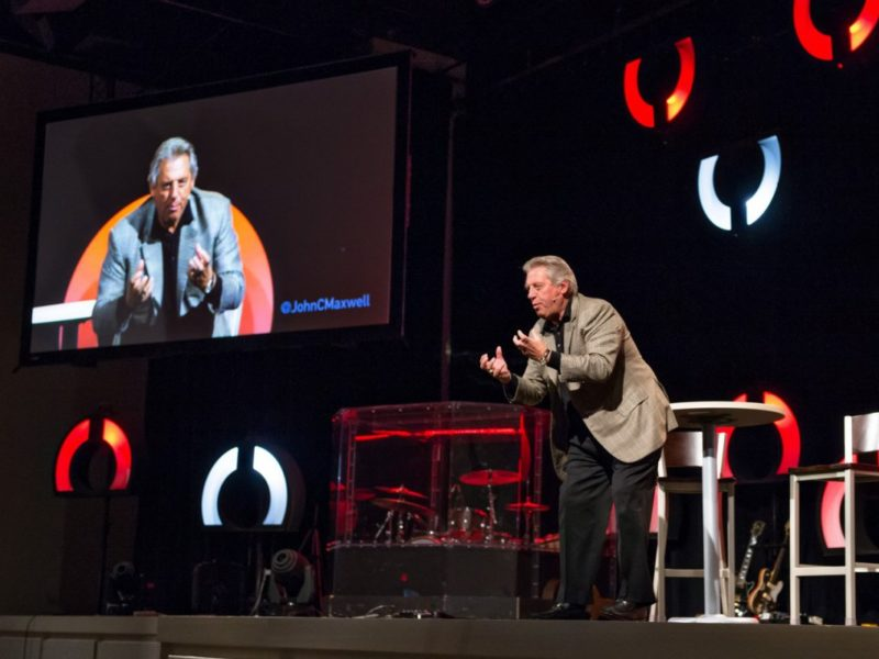 600 pastors join Home Run Leader Conference at The John C. Maxwell Leadership Center at 12Stone