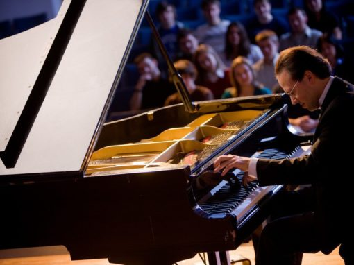 Steinway Pianos chooses Houghton music professor to be a featured Steinway artist