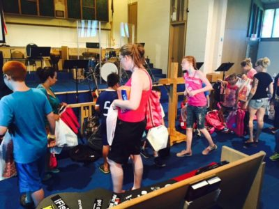 Kansas church holds successful School Supply Giveaway