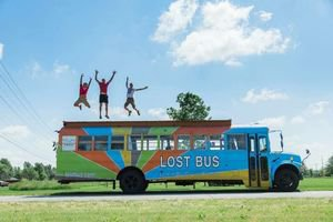 Lost Bus working on projects in Michigan