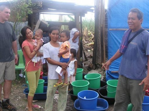 Philippines typhoon relief and recovery