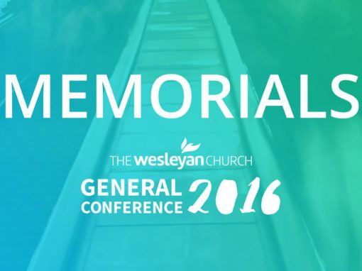 Memorials considered for General Conference 2016