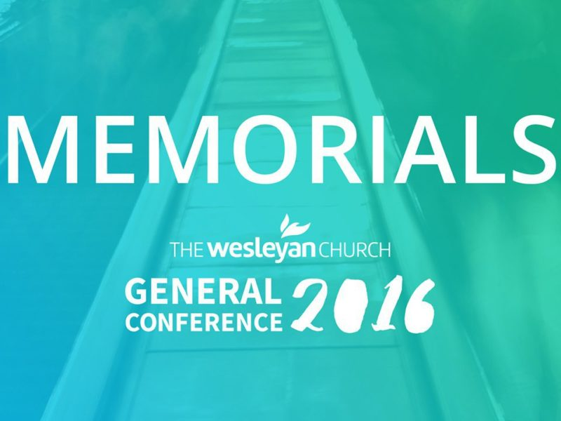 2016 Memorials