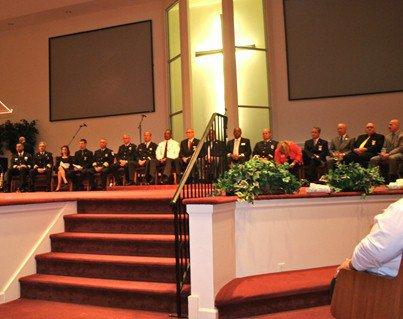 Reidsville Covington Wesleyan Church honors first responders