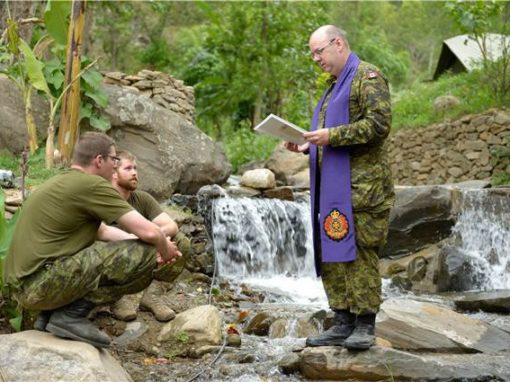 Canadian military chaplain serves in Nepal