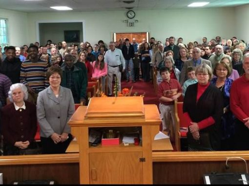 Grieving congregation shown great love after losing pastor