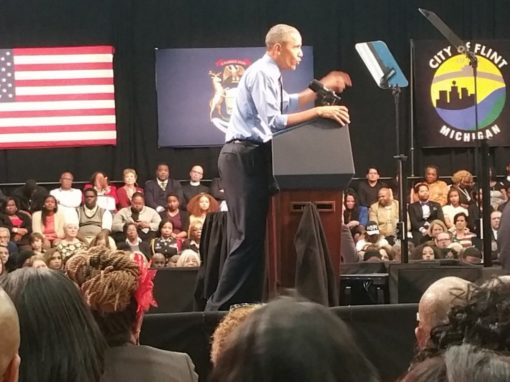 President Obama meets key FGI leader in Flint