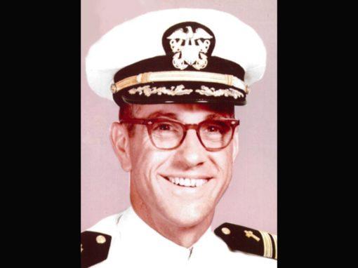 Chaplain Commander Richard Bareiss remembered