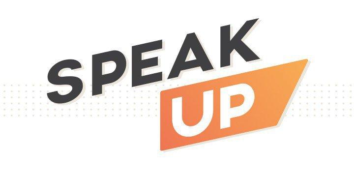 Speak up in 2015