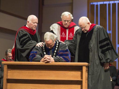 Lennox inaugurated 12th president of Kingswood University