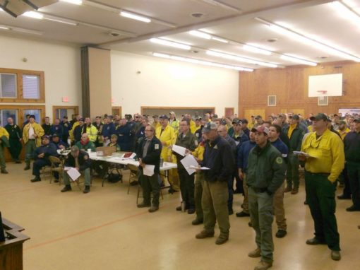 South Carolina District serves firefighters during wildfire