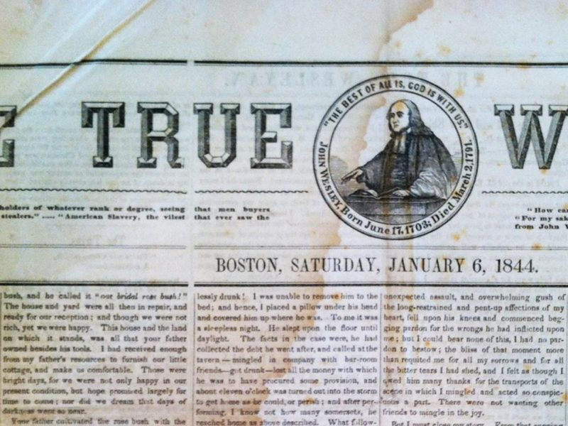 The True Wesleyan – 1843