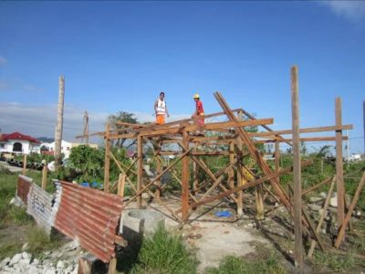 Typhoon hits Philippines, still rebuilding from the last one