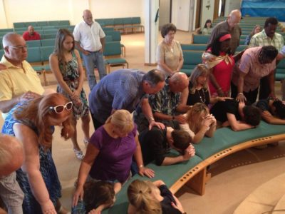 Armigers leading once-dying church with the basic tenets of ministry