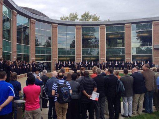 New Wesley Seminary building dedicated