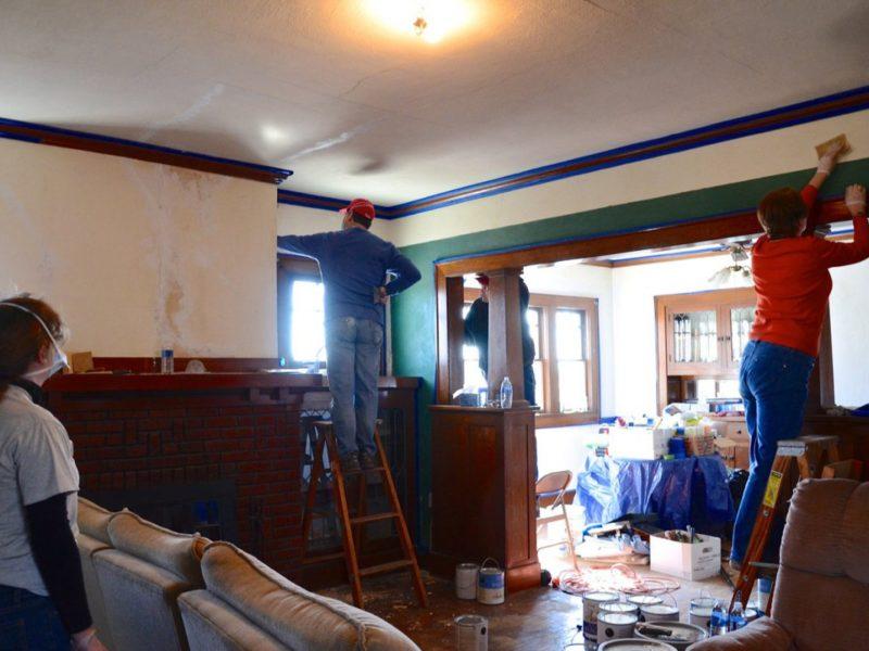 Wesleyan headquarters staff help revive local church hopes