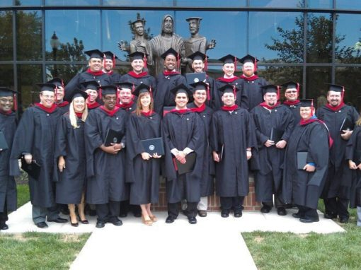 Wesley Seminary graduates its first Master of Divinity students