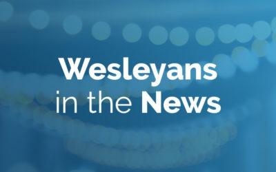 Wesleyans in the news: June 3