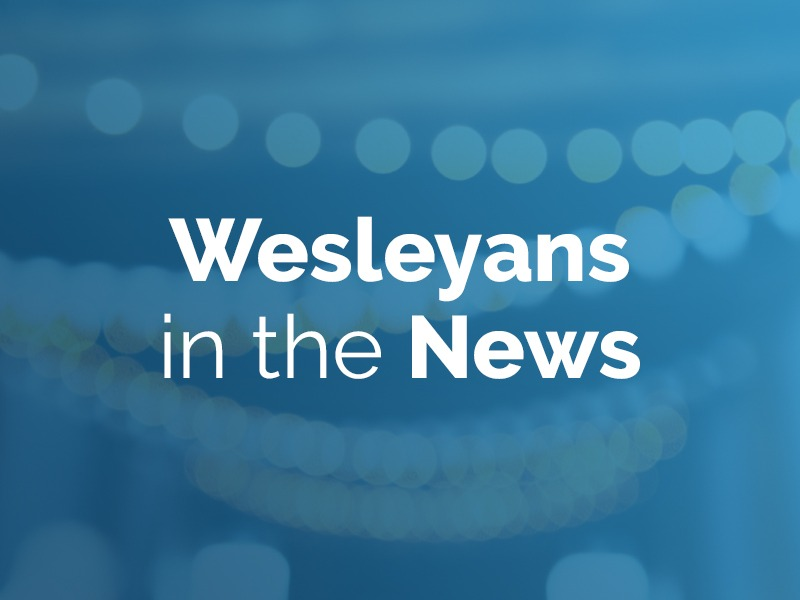 Wesleyans in the news: October 29